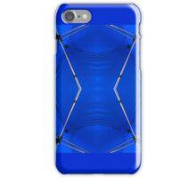 Under my blue umbrella iPhone Case/Skin