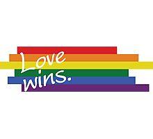 Love Wins, Orlando Pulse Attack T-shirt Photographic Print