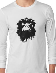 12 Monkeys - Terry Gilliam - Wall Drawing Black Long Sleeve T-Shirt