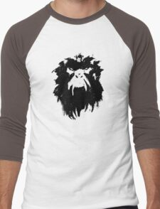 12 Monkeys - Terry Gilliam - Wall Drawing Black Men's Baseball ¾ T-Shirt