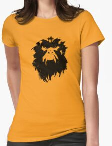 12 Monkeys - Terry Gilliam - Wall Drawing Black Womens Fitted T-Shirt