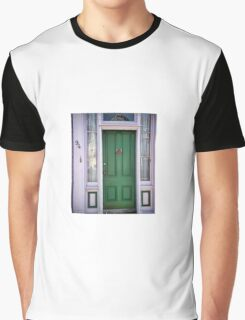 Crabby Door - Lunenburg Nova Scotia Graphic T-Shirt