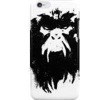 12 Monkeys - Terry Gilliam - Wall Drawing Black iPhone Case/Skin