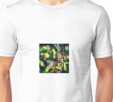 Twin Dragonflies! Unisex T-Shirt