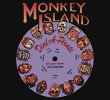 MONKEY ISLAND - DISC PASSWORD Kids Tee