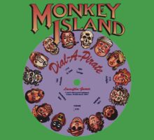 MONKEY ISLAND - DISC PASSWORD Kids Tee