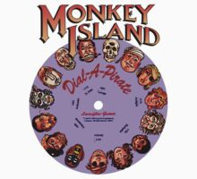 THE SECRET OF MONKEY ISLAND - DISC PASSWORD Baby Tee