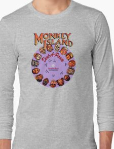 MONKEY ISLAND - DISC PASSWORD Long Sleeve T-Shirt