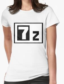 7-Zip Womens Fitted T-Shirt