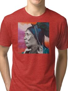 Nickel Icon - Indian Chief Tri-blend T-Shirt