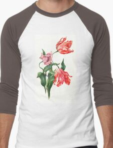 Juicy tulips Men's Baseball ¾ T-Shirt