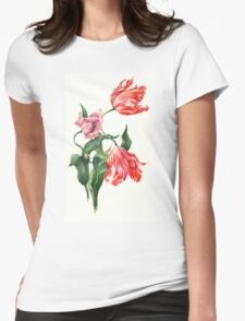Juicy tulips Womens Fitted T-Shirt