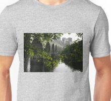 Green Meets Grey Unisex T-Shirt