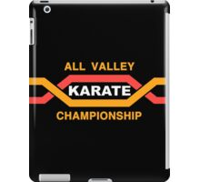 ALL VALLEY KARATE CHAMPIONSHIP 1984 iPad Case/Skin