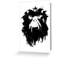 12 Monkeys - Terry Gilliam - Wall Drawing Black Greeting Card