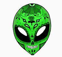 Alien Sugar Skull Comic book effect Unisex T-Shirt