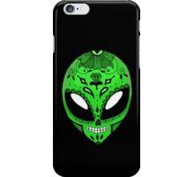 Alien Sugar Skull Comic book effect iPhone Case/Skin