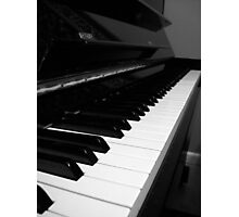 A Piano Photographic Print