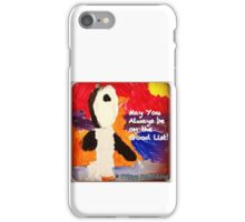 Who's on the Good List? - by Colin iPhone Case/Skin