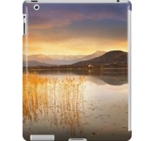 Scirocco clouds over Wörthersee iPad Case/Skin