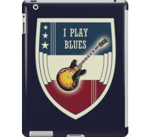 I play blues iPad Case/Skin