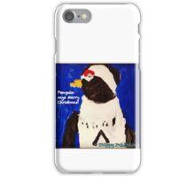 Cutie Pie Penguin - by Nadia iPhone Case/Skin