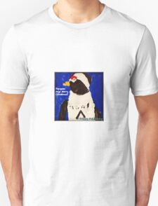 Cutie Pie Penguin - by Nadia Unisex T-Shirt