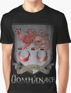 Caomhánach Shiny Shield Graphic T-Shirt
