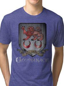 Caomhánach Shiny Shield Tri-blend T-Shirt