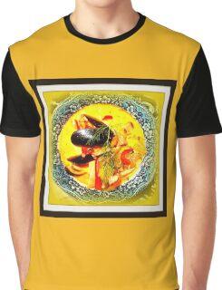 Nova Scotia Seafood Chowder Framed Graphic T-Shirt