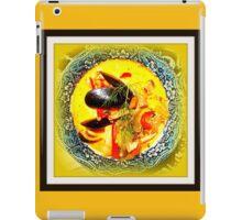 Nova Scotia Seafood Chowder Framed iPad Case/Skin