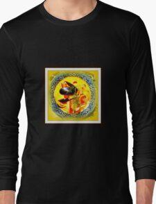 Nova Scotia Seafood Chowder Framed Long Sleeve T-Shirt
