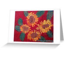 Lola's Sweet Sunflowers Greeting Card