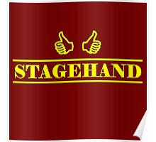 Stagehand Yellow Poster