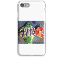Something's Fishy - by Nadia iPhone Case/Skin