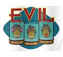 No Evil Poster