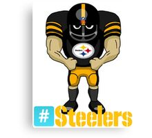 the steelers Canvas Print