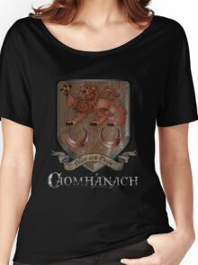 Caomhánach Rusty Shield Women's Relaxed Fit T-Shirt