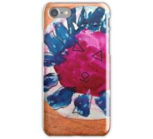 Kitty Flower - by Nadia iPhone Case/Skin