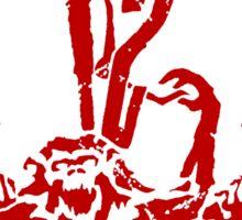 12 Monkeys - Terry Gilliam - Red on White Sticker