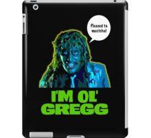 Old Gregg iPad Case/Skin