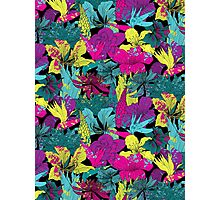 summernight / floral pattern Photographic Print