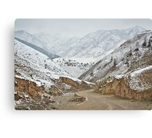 The Mountain Road  Canvas Print