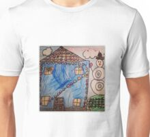 Home for the Holidays - by Nadia Unisex T-Shirt