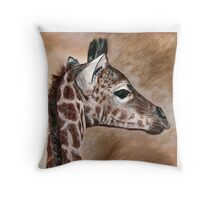 Krys's little African prince Throw Pillow
