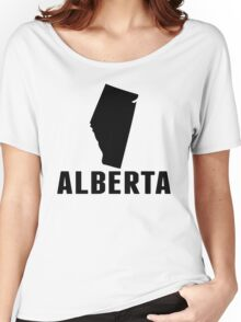 Alberta Silhouette Women's Relaxed Fit T-Shirt