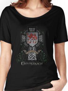 Caomhánach Celtic Cross Women's Relaxed Fit T-Shirt