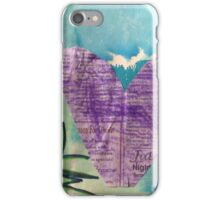 Hearts Aflame - by Nadia iPhone Case/Skin