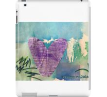 Hearts Aflame - by Nadia iPad Case/Skin