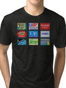 CALIFORNIA GAMES SPONSORS - MASTER SYSTEM  Tri-blend T-Shirt